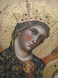 Mary's halos were often ornate.