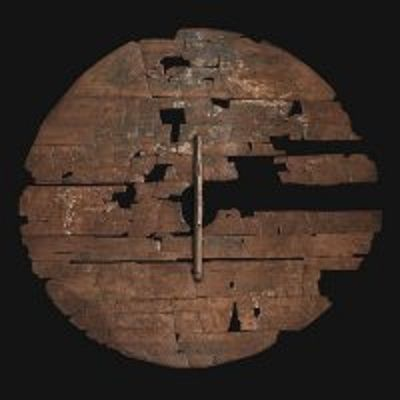 An archeology example of a Viking shield.